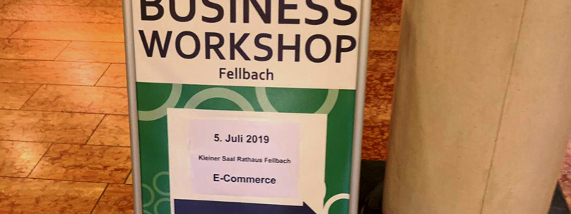 Workshop: E-Commerce als Teil der Lösung